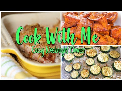 Cook With Me - EASY WEEKNIGHT DINNER IDEA- ITALIAN CHICKEN