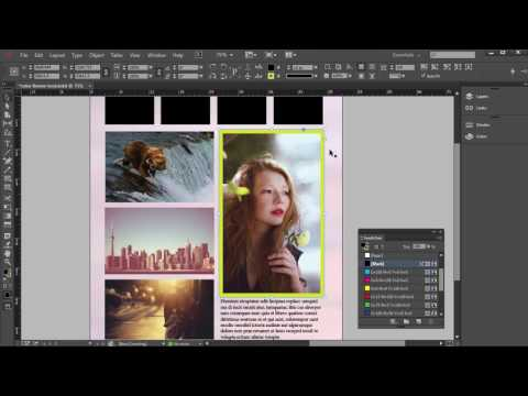 InDesign Tutorial - Color Theme Tool Tutorial