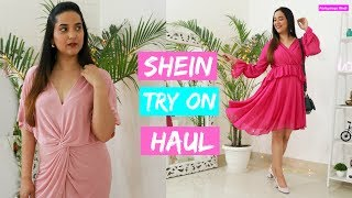Huge Shein Try on Haul | Summer Dresses, tops, Jumpsuits, Night Dresses, home decor & more
