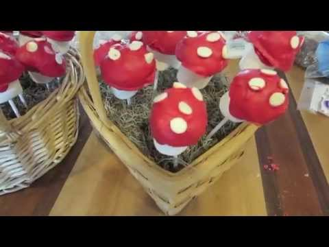Easy toadstool pop tutorial
