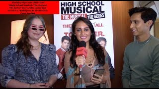 High School Musical The Musical The Series' Julia Lester And Frankie Rodriguez Interview