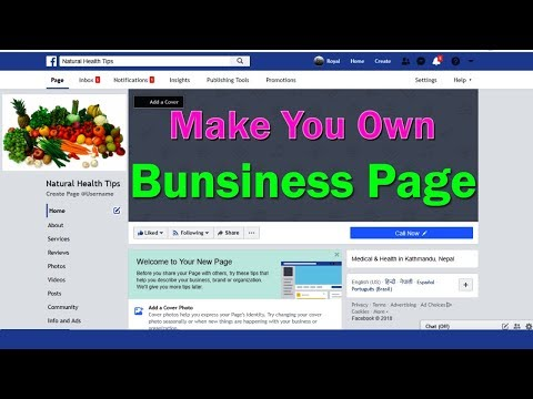 How to Create Facebook Page | How to Make a Facebook Business Page