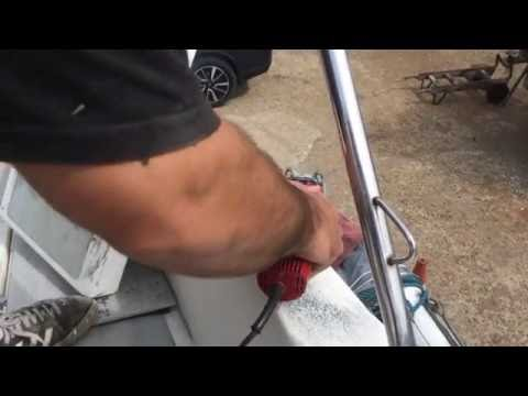 DIIY Boat Restoration: Removing  a cleat