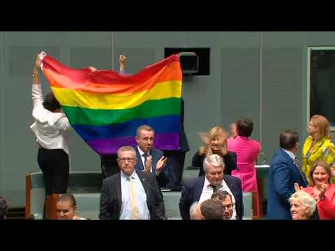 Australia legalises same-sex marriage