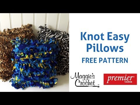 Knot Easy Pillow   Premier Right