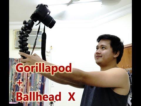 Gorillapod Focus + Ballhead X Para sa mga OFW vlogger