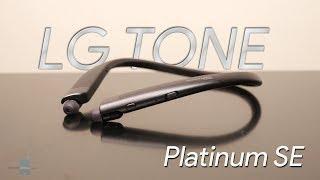 LG TONE Platinum SE hands-on: Comfort and performance at a premium