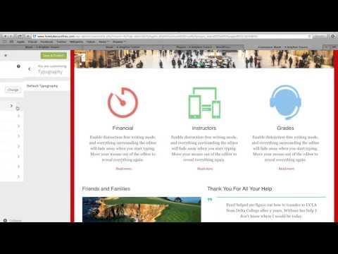 How to Change Font on Wordpress Website