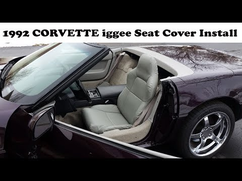 iggee Seat Covers in my 1992 Corvette