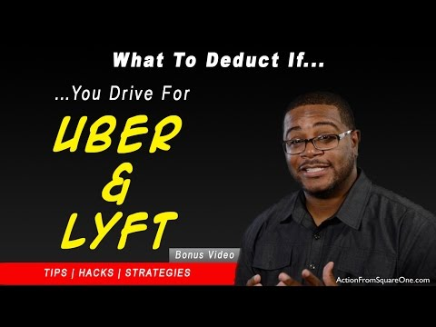 Tax Deductions for Uber, Lyft and Amazon Flex Drivers | How to File The Perfect Tax Return