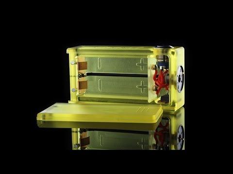 Beast ABS Box Mod Dual 18650