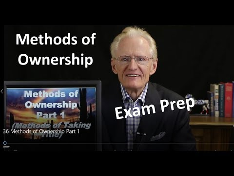 36 Methods of Ownership Part 1: Arizona Real Estate License Exam Prep