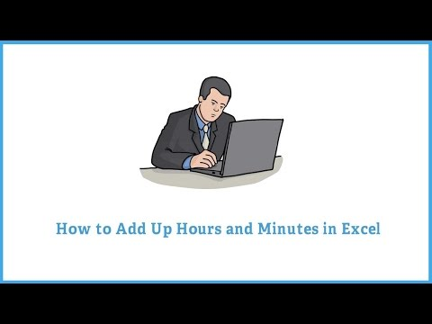 Add Hours and Minutes in Microsoft Excel
