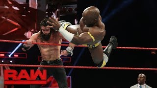 Apollo Crews vs. Elias: Raw, Sept. 25, 2017