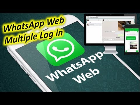 WhatsApp Web Log in with Multiple Accounts