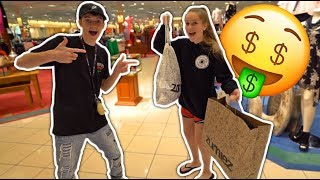 BUY ANYTHING YOU WANT CHALLENGE WITH MY SISTER!