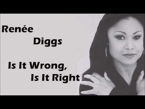 Renée Diggs (Starpoint) -  Is It Wrong, Is it Right - 1993