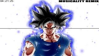 Dragon Ball Super - Ultra Instinct Remix | [Clash of the Gods] | Hip Hop/Trap | @MusicalityBeats