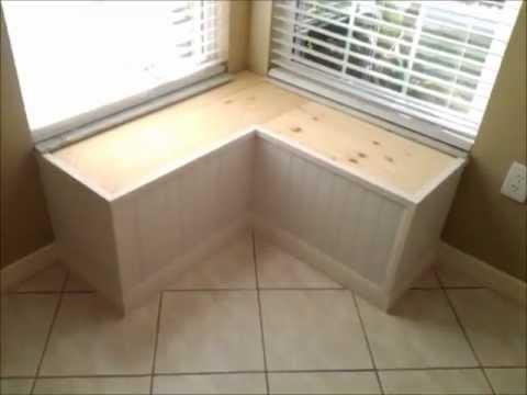 Window Bench Seat Build.