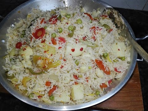 Vegetable Pulao / Spicy ad Tasty Easy to make  Rice Recipe