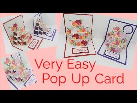 Pop Up Card - Flower | Video Tutorial
