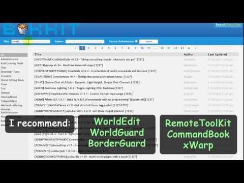 1.1 Bukkit Minecraft Server setup guide