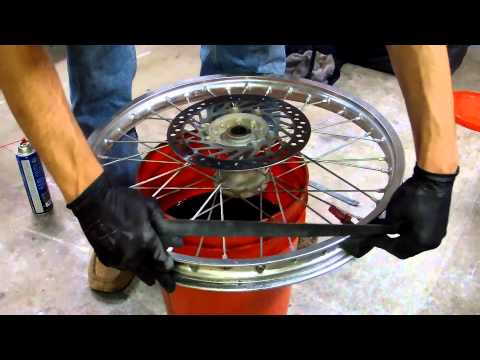 How to Change a Dirt Bike Tire in Minutes