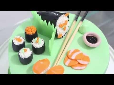 Sushi Cake - CAKE HUB