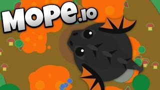Mope.io - Lava Biome and Colossal Black Dragon Update! - Let