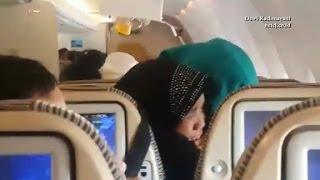 See turbulence on Eithad Airways flight