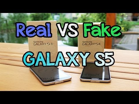Real vs. Fake Samsung Galaxy S5 - Efox E5 - Is it worth it ?