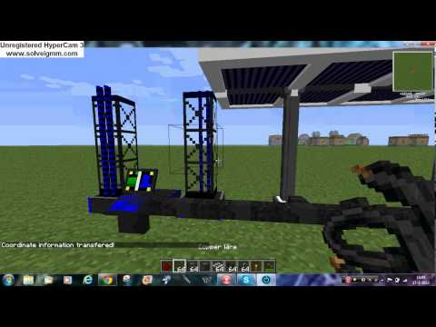 Minecraft Voltz tutorial how to make a Rocket Launcher