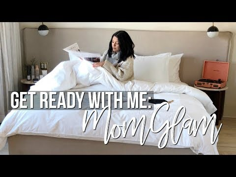 GET READY WITH ME: EASY EVERYDAY NATURAL GLAM MAKEUP LOOK + MOM ROUTINE | SCCASTANEDA