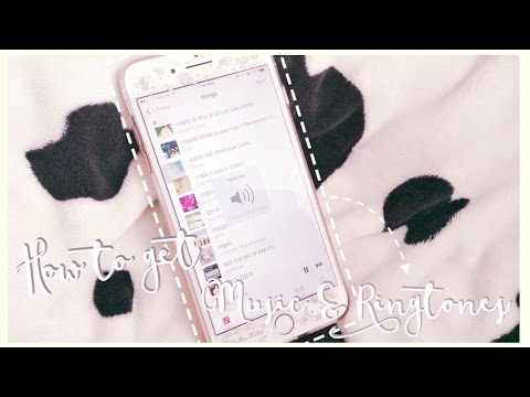 How to get KPOP + Ringtones on iPhone ♡ No Jailbreak