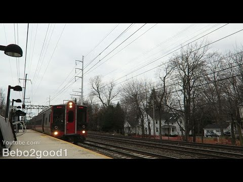 Metro-North New Haven & Amtrak Trains at Southport, CT RR