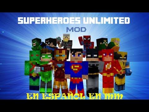 MOD SUPERHEROES UNLIMITED ( minecraft 1.6.4 )
