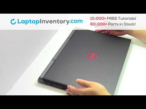How to replace Laptop Solid State Drive Dell Inspiron 7567. Fix, Install, Repair SSD 7566 7778 P65F