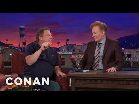 Jeff Garlin Wants Conan To Smoke Pot  - CONAN on TBS