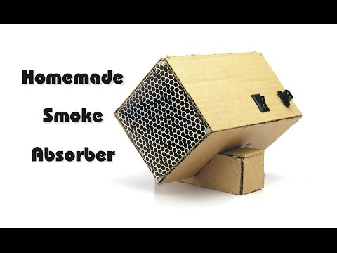 How to Make Soldering Smoke Absorber Machine, DIY Fume Extractor