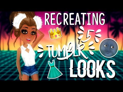 RECREATING 5 TUMBLR OUTFITS ON MSP