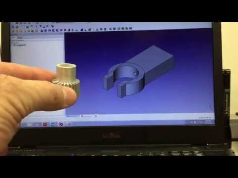 FreeCAD and Da Vinci Duo 3D Printing B1
