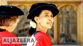 Aung San Suu Kyi stripped of Freedom of Oxford award