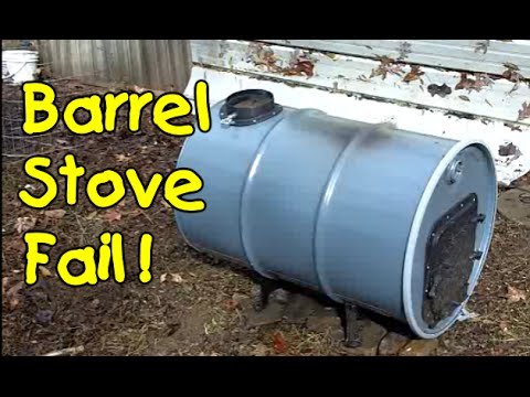 Barrel Wood Stove Build 2