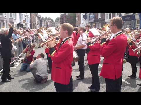 Pittington Brass - Durham Miners Gala 2013