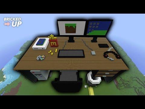 Minecraft Timelapse | Computer Desk
