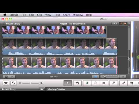 iMovie '11 Training: Combining shots from two camera angles using Cutaways