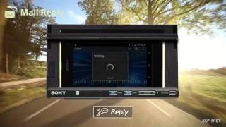 Sony XSP N1BT Smartphone Cradle Car Audio Deck