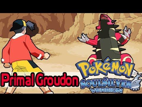 Primal Groudon in Pokemon Soul Silver