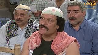 اضحك مع ابو عنتر ابو عنتر يسمع للبيانات الانتخابية  في القاووش
