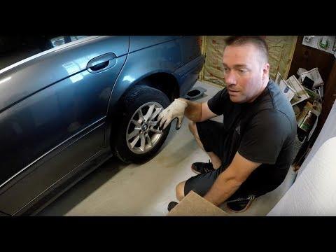 BMW E39 E53 E38 Premature Rear Tire Wear On The Inside Diagnosis And Fix !!!